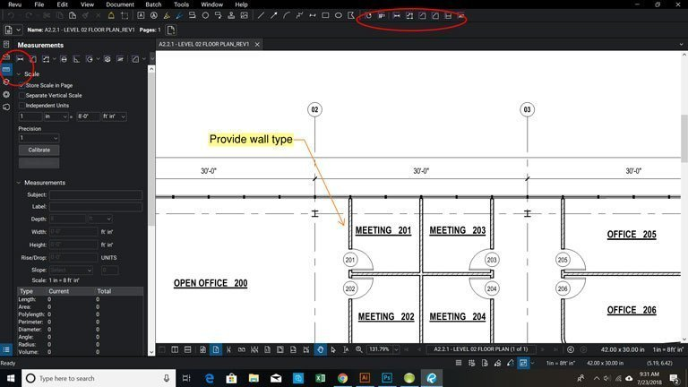 How to Calibrate a Page for Measurement Markups in Bluebeam