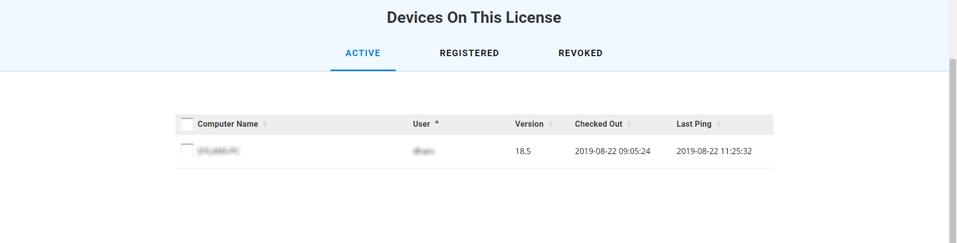 Devices on the Open license in Bluebeam Revu
