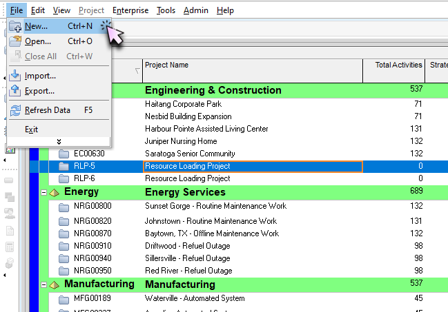 Split space within a panel in Bluebeam Revu 2019